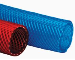 tuyau pvc tresse rouge ou bleu polyvalent veber caoutchouc sp cialiste tuyau flexible gaine. Black Bedroom Furniture Sets. Home Design Ideas